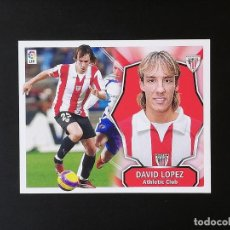 Figurine di Calcio: ATB DAVID LOPEZ ATHLETIC DE BILBAO 2008 2009 08 09 ESTE SIN PEGAR NUNCA PEGADO. Lote 231574695
