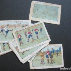 Cromos de Fútbol: REGLAMENTO INTERNACIONAL DE FOOTBALL ASOCIACION-COMPLETA 20 CROMOS-CHOCOLATES ARA-ZARAGOZA-(76.653). Lote 231656900