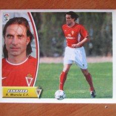 Cromos de Fútbol: #30 ESNAIDER R. MURCIA C.F. ÚLTIMOS FICHAJES LIGA 03 04 EDICIONES ESTE 2003 2004 FICHAJE SIN PEGAR. Lote 231691160