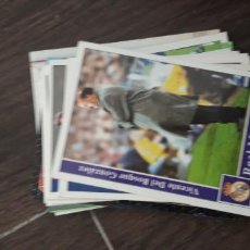 Cromos de Futebol: 2 REAL MADRID DEL BOSQUE MUNDICROMO FICHA 2001 2002 01 02. Lote 231975025