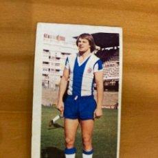Cromos de Fútbol: ASLUND ESPAÑOL 1975-76 ESTE NUNCA PEGADO. Lote 232180065