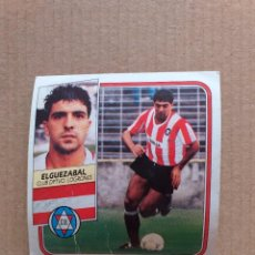 Cromos de Fútbol: ESTE - LIGA 89/90 - 1989 1990 - ULTIMO FICHAJE Nº 19 (LOGROÑES - ELGUEZABAL) - DESPEGADO. Lote 232266945