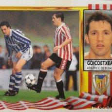 Figurine di Calcio: JON ANDONI GOICOETXEA - ATHLETIC CLUB BILBAO - EDICIONES ESTE LIGA 1995 1996 95 96 - SIN PEGAR. Lote 232296030