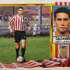 Figurine di Calcio: GALDAMES - COLOCA - ATHLETIC CLUB BILBAO - EDICIONES ESTE LIGA 1995 1996 95 96 - SIN PEGAR. Lote 232297090