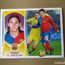 Cromos de Fútbol: ESTE 09 10 2009 2010 MESSI BARCELONA NUNCA PEGADO. Lote 232596425