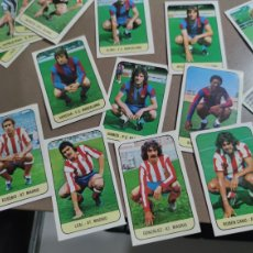 Cromos de Fútbol: LOTE ESTE 78-79 DESPEGADOS PERO POR DELANTES MUY BIEN CONSERVADOS LÑOS DE LA FOTO. Lote 232788495