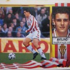 Figurine di Calcio: AVELINO - SPORTING DE GIJON - EDICIONES ESTE LIGA 1995 1996 95 96 - SIN PEGAR. Lote 232929332