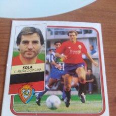 Figurine di Calcio: SOLA OSASUNA 89 90 ESTE RECUPERADO DEL ÁLBUM VER FOTOS. Lote 232929625