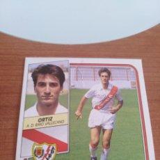 Figurine di Calcio: ORTIZ RAYO VALLECANO 89 90 ESTE RECUPERADO DEL ÁLBUM VER FOTOS. Lote 232940645