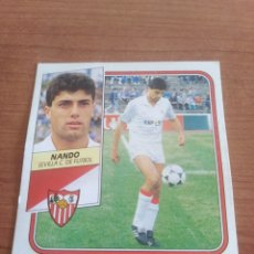 Figurine di Calcio: NANDO SEVILLA 89 90 ESTE RECUPERADO DEL ÁLBUM VER FOTOS. Lote 232943010