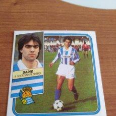 Figurine di Calcio: DADIE REAL SOCIEDAD 89 90 ESTE RECUPERADO DEL ÁLBUM VER FOTOS. Lote 232954486