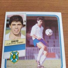 Figurine di Calcio: DAVID TENERIFE 89 90 ESTE RECUPERADO DEL ÁLBUM VER FOTOS. Lote 232956975