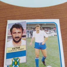 Figurine di Calcio: VÍCTOR TENERIFE 89 90 ESTE RECUPERADO DEL ÁLBUM VER FOTOS. Lote 232957865
