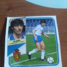 Figurine di Calcio: TEJERO ZARAGOZA 89 90 ESTE RECUPERADO DEL ÁLBUM VER FOTOS. Lote 232981540