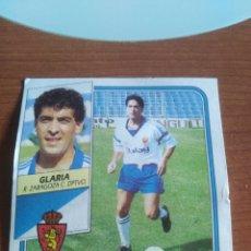 Figurine di Calcio: GLARIA ZARAGOZA 89 90 ESTE RECUPERADO DEL ÁLBUM VER FOTOS. Lote 232981695