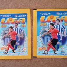 Cromos de Fútbol: PANINI LIGA ESTE 09/10 LOTE 2 SOBRES VERSION ESTRECHO Y ANCHO NUEVOS SIN ABRIR. Lote 233073000