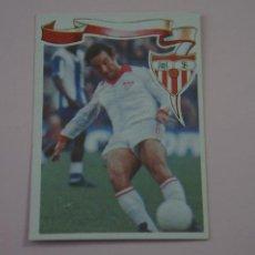 Cromos de Fútbol: CROMO DE FÚTBOL SANJOSE DEL SEVILLA C.F. SIN PEGAR Nº 38 LIGA MAGA 1984-1985/84-85 DE MAGA. Lote 268897989