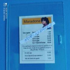 Cromos de Fútbol: MARADONA SELECCION ARGENTINA BARCELONA. Lote 233272645