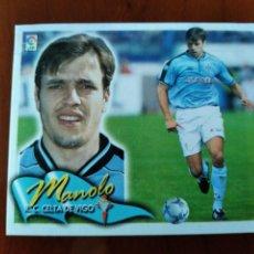 Cromos de Fútbol: LIGA 2000/01 MANOLO (COLOCA) MUY DIFÍCIL.. Lote 233356405