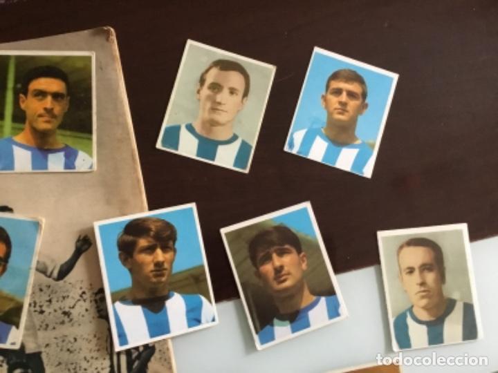 Cromos de Fútbol: Lote cromos futbol Real sociedad Temporada 1968 Campeones Bruguera Nunca pegados - Foto 2 - 233366160