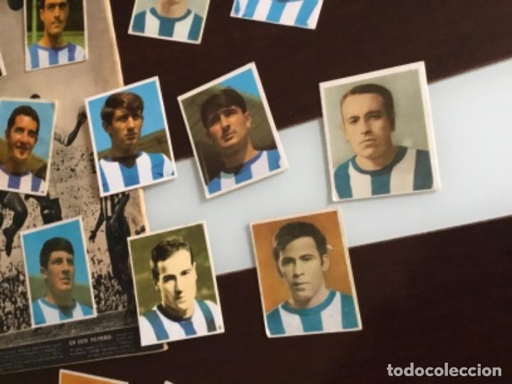 Cromos de Fútbol: Lote cromos futbol Real sociedad Temporada 1968 Campeones Bruguera Nunca pegados - Foto 3 - 233366160
