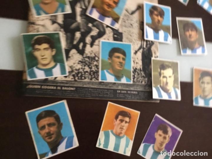 Cromos de Fútbol: Lote cromos futbol Real sociedad Temporada 1968 Campeones Bruguera Nunca pegados - Foto 4 - 233366160