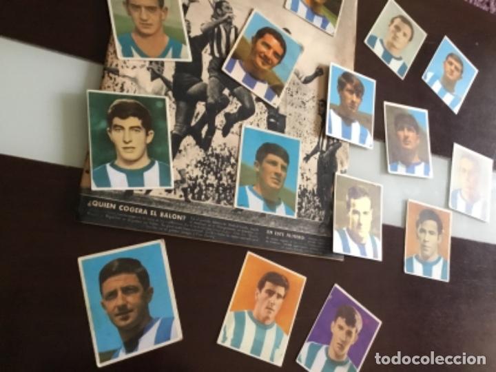Cromos de Fútbol: Lote cromos futbol Real sociedad Temporada 1968 Campeones Bruguera Nunca pegados - Foto 5 - 233366160