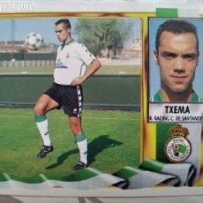 Cromos de Fútbol: LIGA 95/96 TXEMA FICHAJE 31RACING.SANTANDER(VERSIÓN MUY DIFÍCIL). Lote 233795775