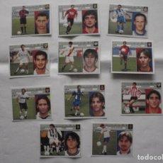 Cromos de Fútbol: LOTE 11 CROMOS FUTBOL LIGA ESTE 2001-02 TODOS FICHAJES DIFERENTES NUNCA PEGADOS.. Lote 233895115