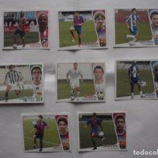 Cromos de Fútbol: LOTE 8 CROMOS FUTBOL LIGA ESTE 2004-05 TODOS FICHAJES DIFERENTES NUNCA PEGADOS.. Lote 233895635
