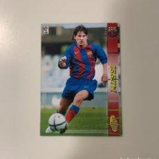 Cromos de Fútbol: CROMO LEO MESSI 2004/2005. Lote 234578235