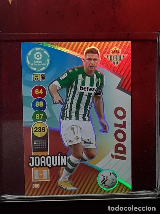 ADRENALYN 2020 2021 20 21 CROMO PANINI FUTBOL N 368 BETIS IDOLO JOAQUIN (Coleccionismo Deportivo - Álbumes y Cromos de Deportes - Cromos de Fútbol)