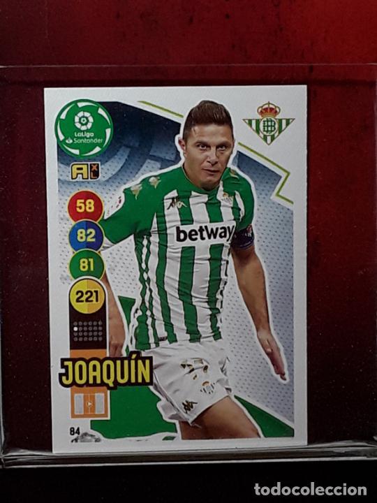 ADRENALYN 2020 2021 20 21 CROMO PANINI FUTBOL N 84 BETIS JOAQUIN (Coleccionismo Deportivo - Álbumes y Cromos de Deportes - Cromos de Fútbol)
