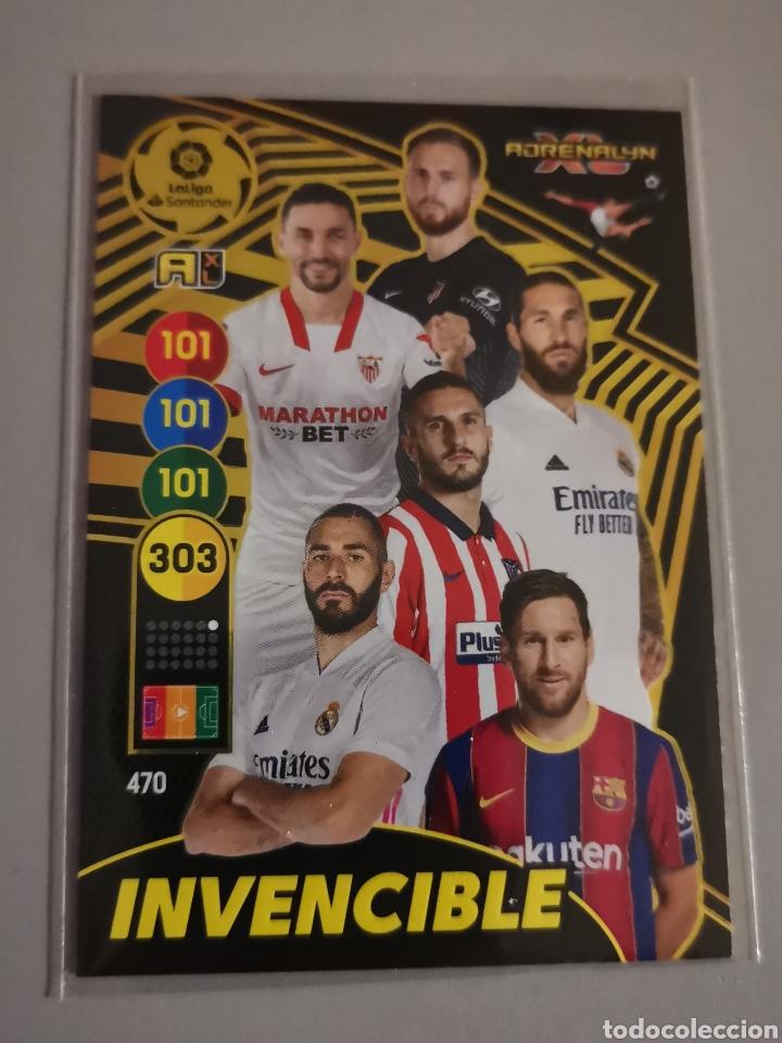 CARTA INVENCIBLE NÚM 470 DE LA NUEVA COLECCIÓN DE ADRENALYN TEMPORADA 2020 / 2021 (Coleccionismo Deportivo - Álbumes y Cromos de Deportes - Cromos de Fútbol)
