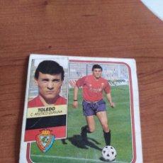 Figurine di Calcio: TOLEDO OSASUNA 89 90 ESTE RECUPERADO DEL ÁLBUM VER FOTOS. Lote 234804785
