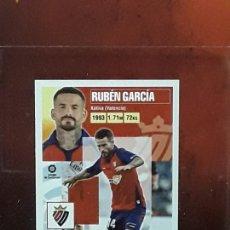 Cromos de Fútbol: LE LIGA ESTE 2020 2021 SANTANDER 20 21 CROMO PANINI FUTBOL N 13 OSASUNA RUBEN GARCIA. Lote 278300048