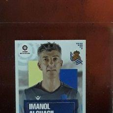 Cromos de Fútbol: LE LIGA ESTE 2020 2021 SANTANDER 20 21 CROMO PANINI FUTBOL N 1 REAL SOCIEDAD IMANOL ALGUACIL. Lote 278300063
