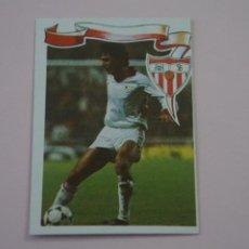 Cromos de Fútbol: CROMO DE FÚTBOL SERNA DEL SEVILLA C.F. SIN PEGAR Nº 41 LIGA MAGA 1984-1985/84-85 DE MAGA. Lote 268898124