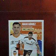 Cromos de Fútbol: LE LIGA ESTE 2020 2021 SANTANDER 20 21 CROMO PANINI FUTBOL N 17 VALENCIA MAXI GOMEZ. Lote 278300133