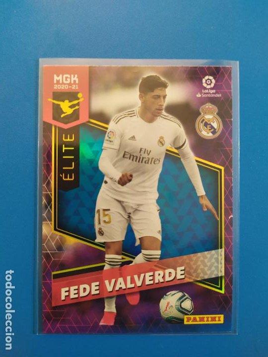 MEGACRACKS 2020 2021 / 20 21 FEDE VALVERDE (REAL MADRID) ÉLITE MGK Nº 366 (Coleccionismo Deportivo - Álbumes y Cromos de Deportes - Cromos de Fútbol)