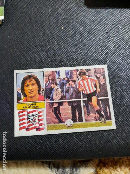TIRAPU BILBAO ESTE 1982 1983 CROMO FUTBOL LIGA 82 83 - RF0 - SIN PEGAR - 809 (Coleccionismo Deportivo - Álbumes y Cromos de Deportes - Cromos de Fútbol)