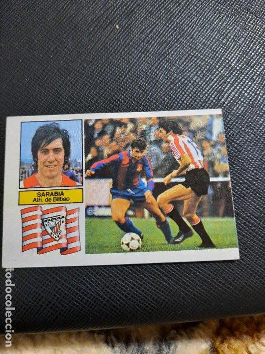 SARABIA BILBAO ESTE 1982 1983 CROMO FUTBOL LIGA 82 83 - RF0 - SIN PEGAR - 810 (Coleccionismo Deportivo - Álbumes y Cromos de Deportes - Cromos de Fútbol)