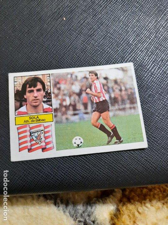 SOLA BILBAO ESTE 1982 1983 CROMO FUTBOL LIGA 82 83 - RF0 - SIN PEGAR - 812 (Coleccionismo Deportivo - Álbumes y Cromos de Deportes - Cromos de Fútbol)