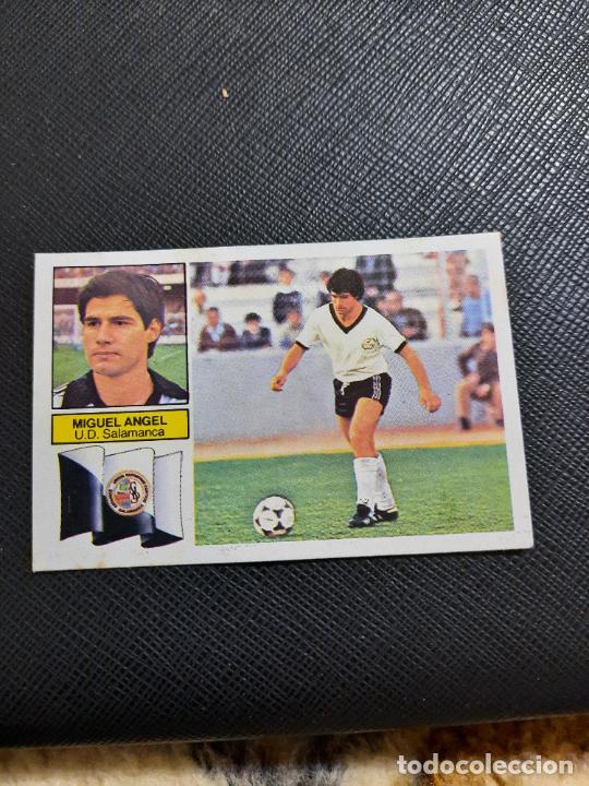 MIGUEL ANGEL SALAMANCA ESTE 1982 1983 CROMO FUTBOL LIGA 82 83 - RF0 - SIN PEGAR - 815 (Coleccionismo Deportivo - Álbumes y Cromos de Deportes - Cromos de Fútbol)