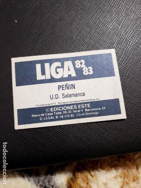 Cromos de Fútbol: PEPIN SALAMANCA ESTE 1982 1983 CROMO FUTBOL LIGA 82 83 - RF0 - SIN PEGAR - 818 - Foto 2 - 234899695