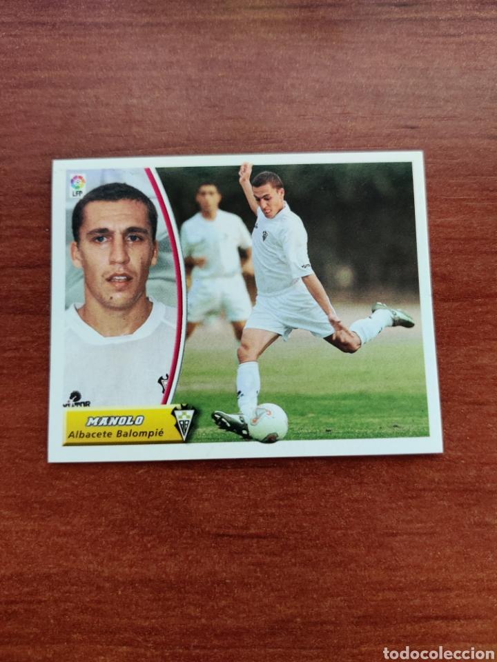 CROMO COLOCA MANOLO ALBACETE BALOMPIÉ LIGA ESTE 2003-2004 03-04 (Coleccionismo Deportivo - Álbumes y Cromos de Deportes - Cromos de Fútbol)
