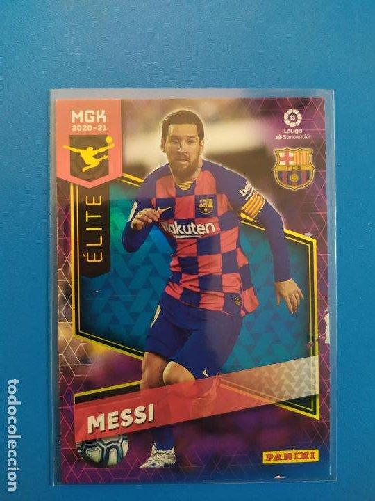 MEGACRACKS 2020 2021 / 20 21 MESSI (BARCELONA) ÉLITE MGK Nº 378 (Coleccionismo Deportivo - Álbumes y Cromos de Deportes - Cromos de Fútbol)