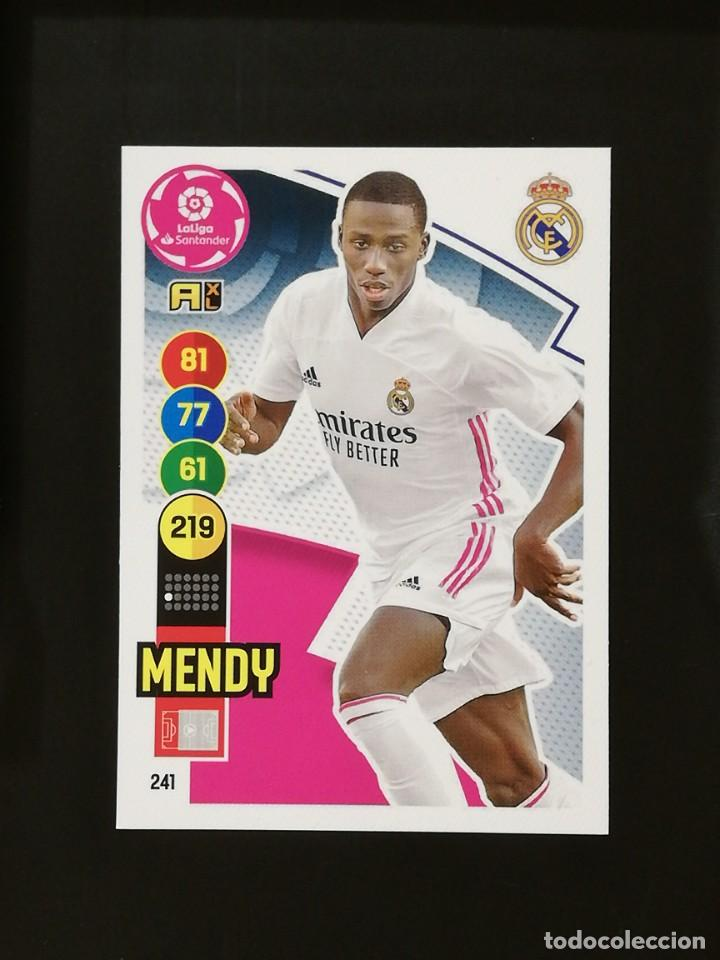 #241 MENDY REAL MADRID 2020 2021 ADRENALYN XL LIGA 20 21 CODIGO SIN ACTIVAR (Coleccionismo Deportivo - Álbumes y Cromos de Deportes - Cromos de Fútbol)