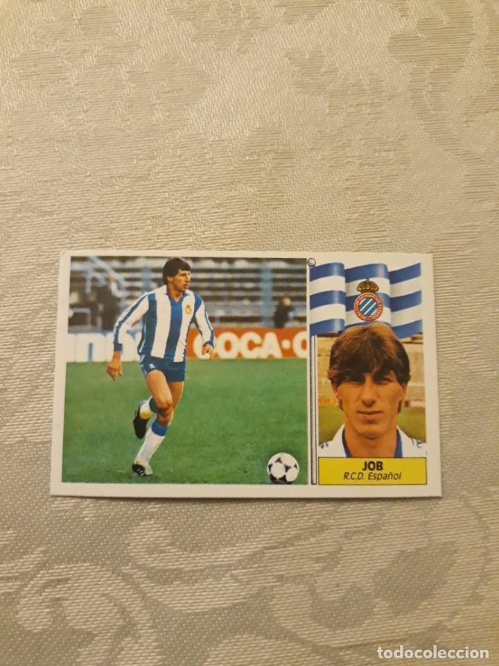 JOB ESPAÑOL NUNCA PEGADO ESTE 1986 1987 CROMO FUTBOL LIGA 86 87 (Coleccionismo Deportivo - Álbumes y Cromos de Deportes - Cromos de Fútbol)