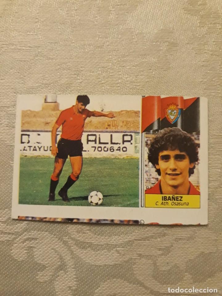 IBAÑEZ OSASUNA NUNCA PEGADO CON ERROR ESTE 1986 1987 CROMO FUTBOL LIGA 86 87 (Coleccionismo Deportivo - Álbumes y Cromos de Deportes - Cromos de Fútbol)